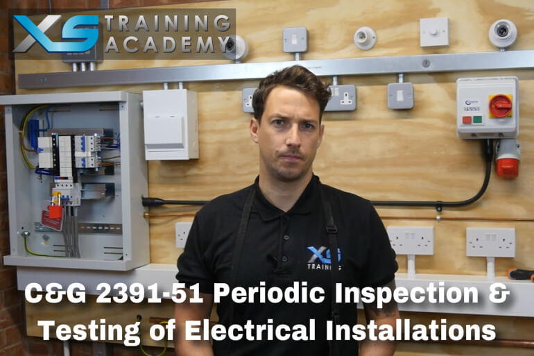 C&G 2391-51 Periodic Inspection and Testing of Electrical Installations (Online Course + Exams)