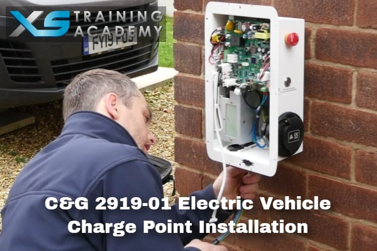 C&G 2919-301 – Level 3 Award In Domestic, Commercial and Industrial Electric Vehicle Charging Equipment Installation